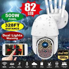 82LED 1080P WIFI IP Camera Wireless Outdoor CCTV PTZ Smart Home Security IR Cam_