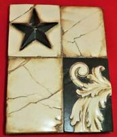Sid Dickens Memory Wall Tile T-164 MIDNIGHT STAR Fall 2005 - 2007, Retired