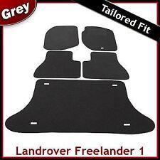 Land Rover Freelander Mk1 1997-2006 Tailored Carpet Car Floor & Boot Mats GREY