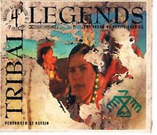 TRIBAL LEGENDS - SOUNDS OF THE NATIVE AMERICIAN PEOPLE ( 4 C.D SET )