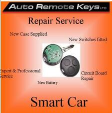 SMART CAR ROUND Remote key Battery replacement & repair service