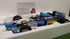 F1  BENETTON 1995 RENAULT B195 SCHUMACHER au 1/18 MINICHAMPS 510951823 formule 1