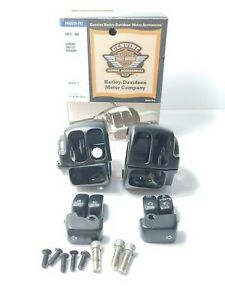 Harley Davidson Genuine Switch Housing And Switches Sportster Dyna Softail Oem