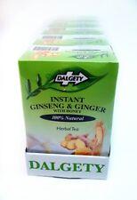 6 x Dalgety Instant Ginseng & Ginger Herbal Tea (18 per pack)