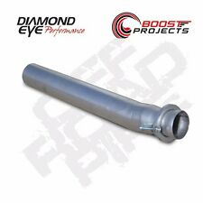 "Diamond Eye 3.5"" Aluminized OffRoad Exhaust Pipe for 03-07 Ford F250 F350 125034"