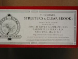 South River Model Works - The Corner Streeter's & Clear Brook  Kit #320 HO Scale
