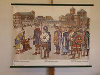 Glasmalerei Aachen Innsbruck Burgos München Chromolithographie 1892 alter Druck