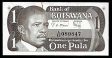 New listing World Paper Money - Botswana 1 Pula Nd 1983 Sign 4 P6a @ Crisp Vf