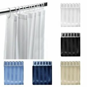 Shower Curtain With Free Hooks Waterproof Bathroom Curtain 180 x 180CM