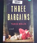 New UNCORRECTED PROOF Book THREE BARGAINS - Tania Malik Advance Reading Copy ARC
