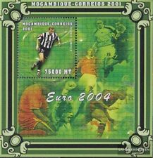 Mosambik block89 unmounted mint / never hinged 2001 Football-european championsh