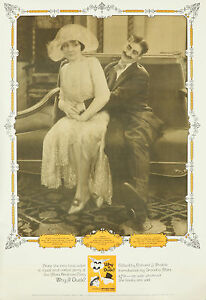 Original Vintage Affiche Why Un Canard Marx Brothers Groucho Silent Film Humour