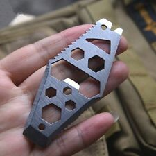 Pry Bar Bottle Opener Mini Screwdriver Outdoor Pocket Tool Hex Key Wrench