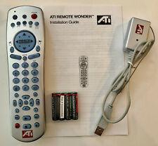 NEW ATI Remote Wonder RF PC Multimedia Control Kit 151-V01122 With USB Receiver