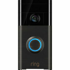 Ring Video Doorbell 720p HD video two-way talk motion detection Venetian Bronze