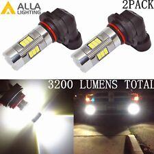 Alla Lighting 3200lm 6000K 27-LED 9006 Fog Light Driving Bulbs Lamps Xenon White
