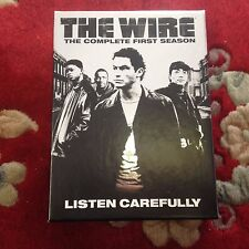 The Wire  Season 1 DVD 5-Disc Set HBO Great Condition