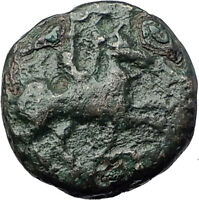 Philip II 359BC Olympic Games HORSE Race WIN Macedonia Ancient Greek Coin i61783