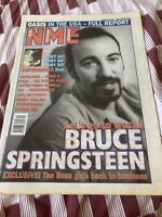 NME New Musical Express Music Magazine 9th March 1996 Bruce Springsteen Oasis