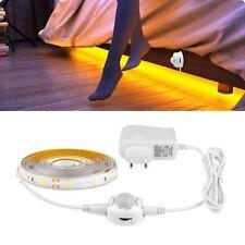 Luz Del Cama De Noche LED Con Sensor De Movimiento Armario De Dormitorio Lámpara