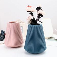 Office Nordic Style Home Balcony Plastic  Flower Vase Pot Desktop Decor Well