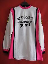 Cycling t-shirt UCF HAS Fouquet Insurance GAMF old Vintage retro Bike BE - XL