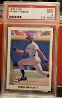 1990 Leaf Frank Thomas Rookie Card #300 RARE PSA 9 Mint SP Chicago White Sox HOF
