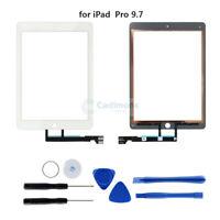 Para iPad Pro 9.7 A1673 A1674 Digitalizador de pantalla táctil Lente de cristal