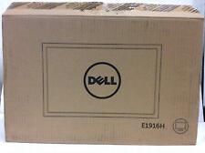 """Dell 18.5"""" LED LCD Monitor Display Port/VGA HD E1916H NOB"""