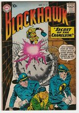 Blackhawk #144 VF+ 8.5 Adventure War Secret of the Chameleon Underworld
