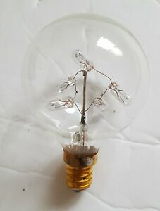 "Bulbrite Starlight 2"" Globe (G16) Candelabra Base (E26) Light Bulb, 5 Watts"