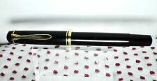 Vintage Pelikan M250 fountain pen black stilografica engraved SIEMENS