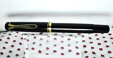 Vintage Pelikan M250 fountain pen black stilografica engraved SIEMENS