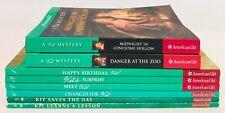 Lot 8 AmericanGirl Kit Book Complete Set #1-6 Plus 2 more Kit Mystey Books