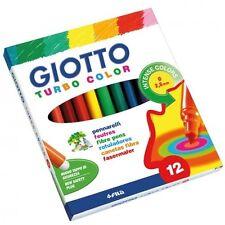 12 x Giotto feutre pointe fibre Pointe stylos