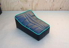 """10"""" x 7"""" BLACK/GREEN MINIBIKE SEAT SCOOTER CHOPPER MINI BIKE HERTERS HIAWATHA"""