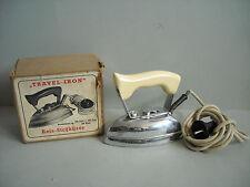 Plancha para el viaje viaje plancha Travel-Iron cromado 50er 60er