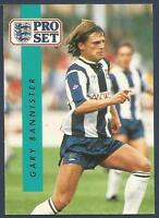 PRO SET 1990/91- #295-WEST BROMWICH ALBION-QPR-SHEFF WED-COVENTRY-GARY BANNISTER
