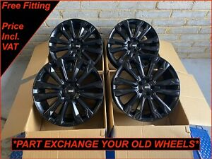 "Riviera RV124 22"" Alloy Wheels Fit Land Rover Discovery 3 4 5 Range Rover Sport"