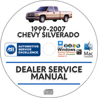 Chevrolet Silverado 1999-2007 Service Repair Manual + Wiring Diagrams Chevy
