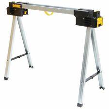 DeWalt DWST11155 Durable Metal Folding V-Groove Stand Sawhorse