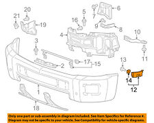 Chevrolet GM OEM 16-18 Silverado 1500 Front Bumper-Guide Bracket Right 23465293