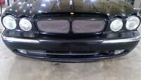 04-07 Jaguar XJ-R Front Bumper Assembly (Ebony Code PEC)