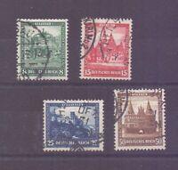 Dt. Reich 1931 - Nothilfe - MiNr. 459/462 gestempelt - Michel 140,00 € (380)