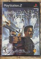 **NEW** Syphon Filter: Dark Mirror (Sony PlayStation 2, 2007)