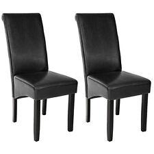 2er Set Esszimmerstuhl Esszimmerstühle Gastro Stühle schwarz 106cm B-Ware