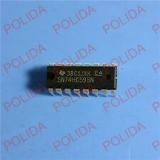 50PCS 8-Bit Shift Register IC TI DIP-16 SN74HC595N SN74HC595NE4 74HC595