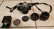 Pentax ME Super 35mm Camera w/ Pentax-M 50mm Lens, Pentax-A Lens, Lens Filters