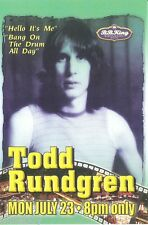 Todd Rundgren  Concert Handbill Mini-Poster BB Kings NYC 2001