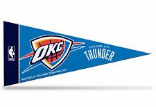 "Offically Licensed NBA Oklahoma City Thunder Mini Pennant  9""x4"" Made in USA"